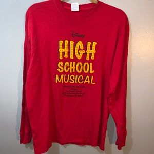 Disney High School Musical play shirt large